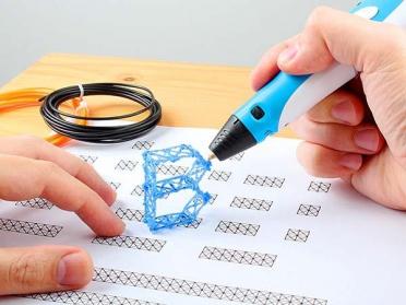 как рисовать 3д ручкой