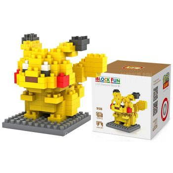 Пикачу Покемон NanoBlock конструктор