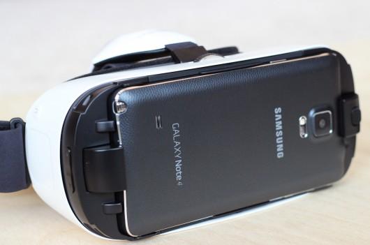 Samsung Gear VR galaxy Note 4