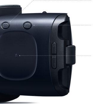 Gear VR R323 Blue Black