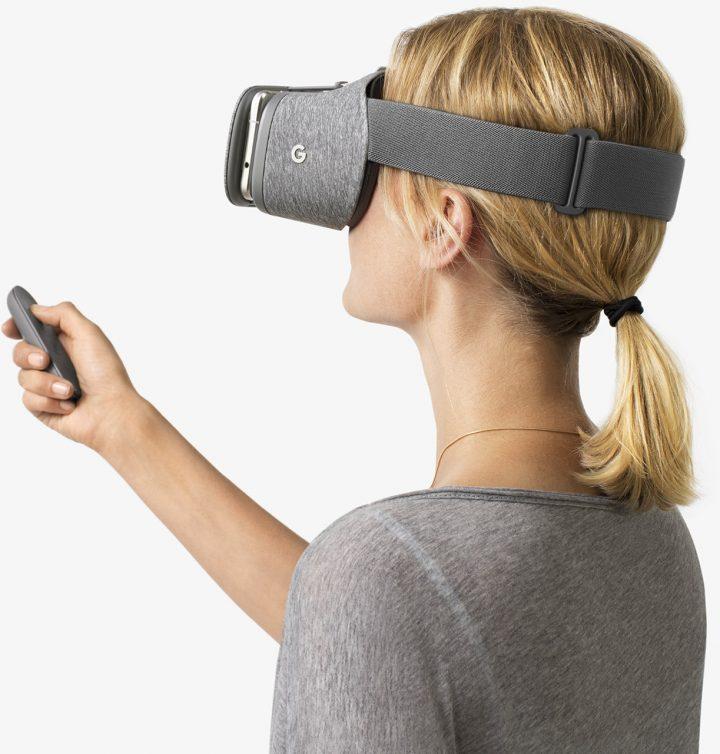 Google Daydream View - очки виртуальности