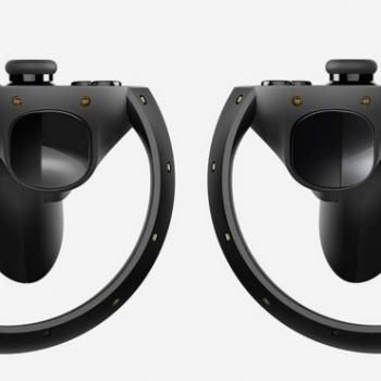 Oculus Touch контроллер VR